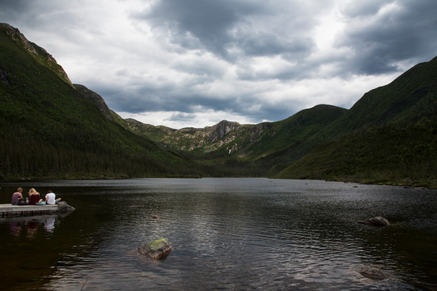 American's lake, Gaspésie national park,