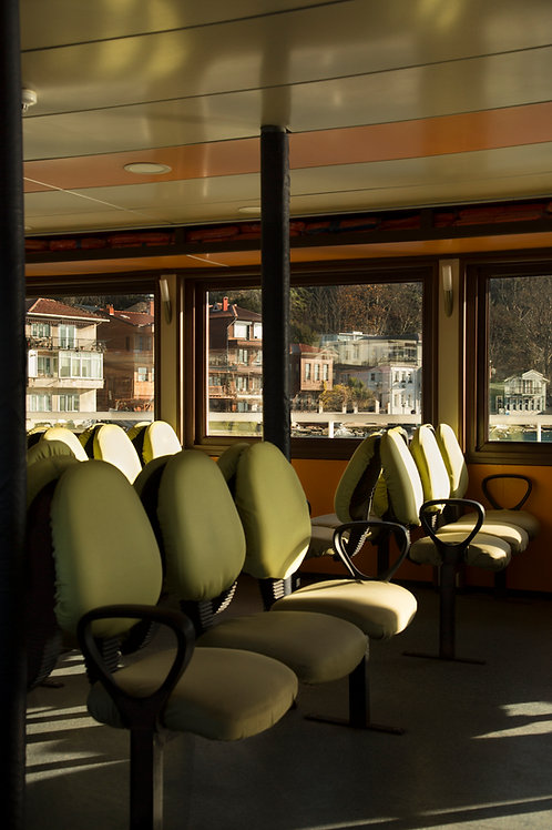 Day light in the ferry
