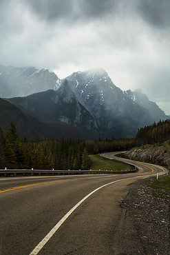 Rockies in the sky, Kananaskis, Canada, 2016