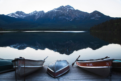 Pyramid lake, Jasper, Canada, 2016