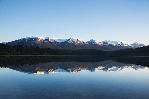 Evening at Patricia Lake