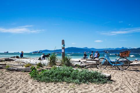 Life is blue, Kitsilano beach, Vancouver, Canada, 2016