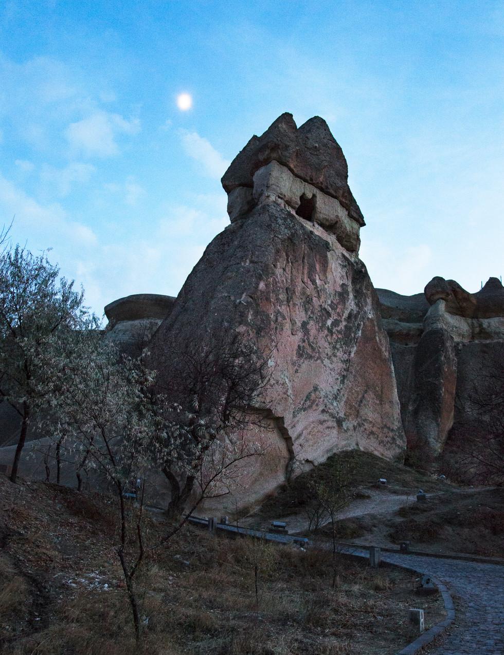 Pasabag valley at dusk, Cappadocia, 2017
