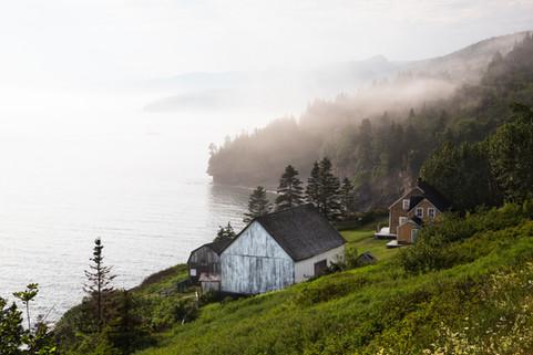 Mystic landscape, Forillon national park, Canada, 2017