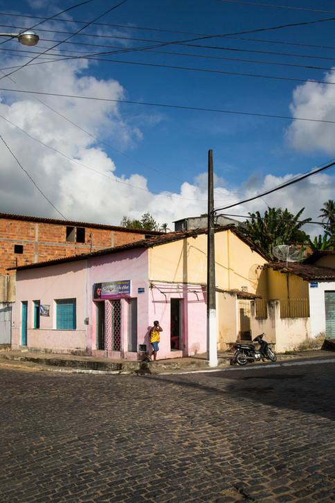 Pink corner, Laranjeiras, Brazil, 2014