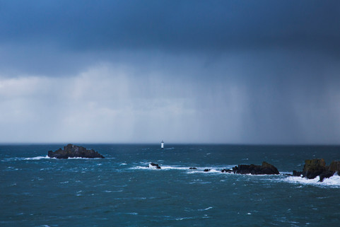 The rain is coming, Cancale, France, 2014