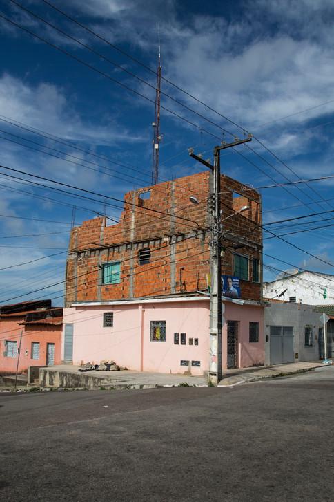 Pink corner, Acaraju, Brazil, 2014