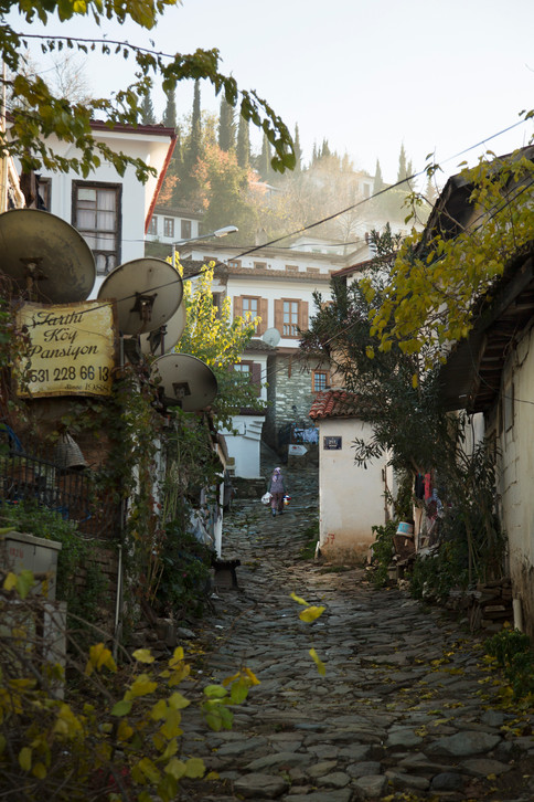 Street of Sirince village, Turkey, 2017