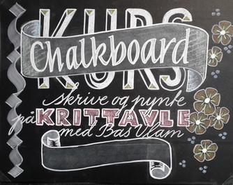 Chalkboard eller Krittavle