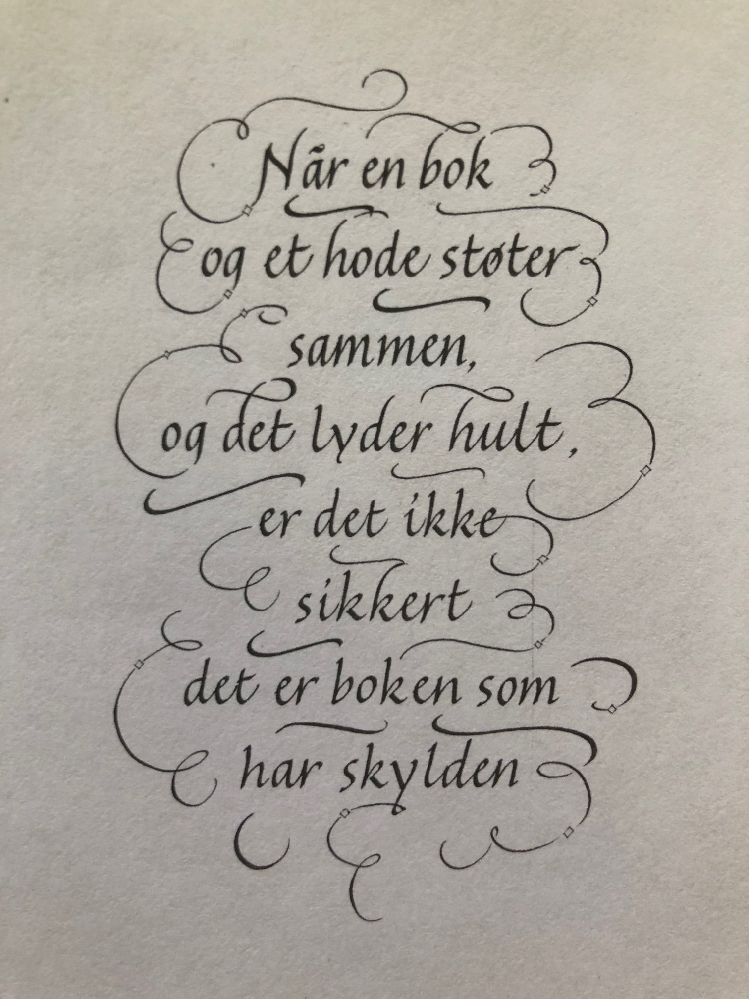 Ett av sitatene fra mitt lille heftet med godord på flere språk, til slags denne sommeren!
