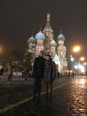 Tur i vakre Moskva