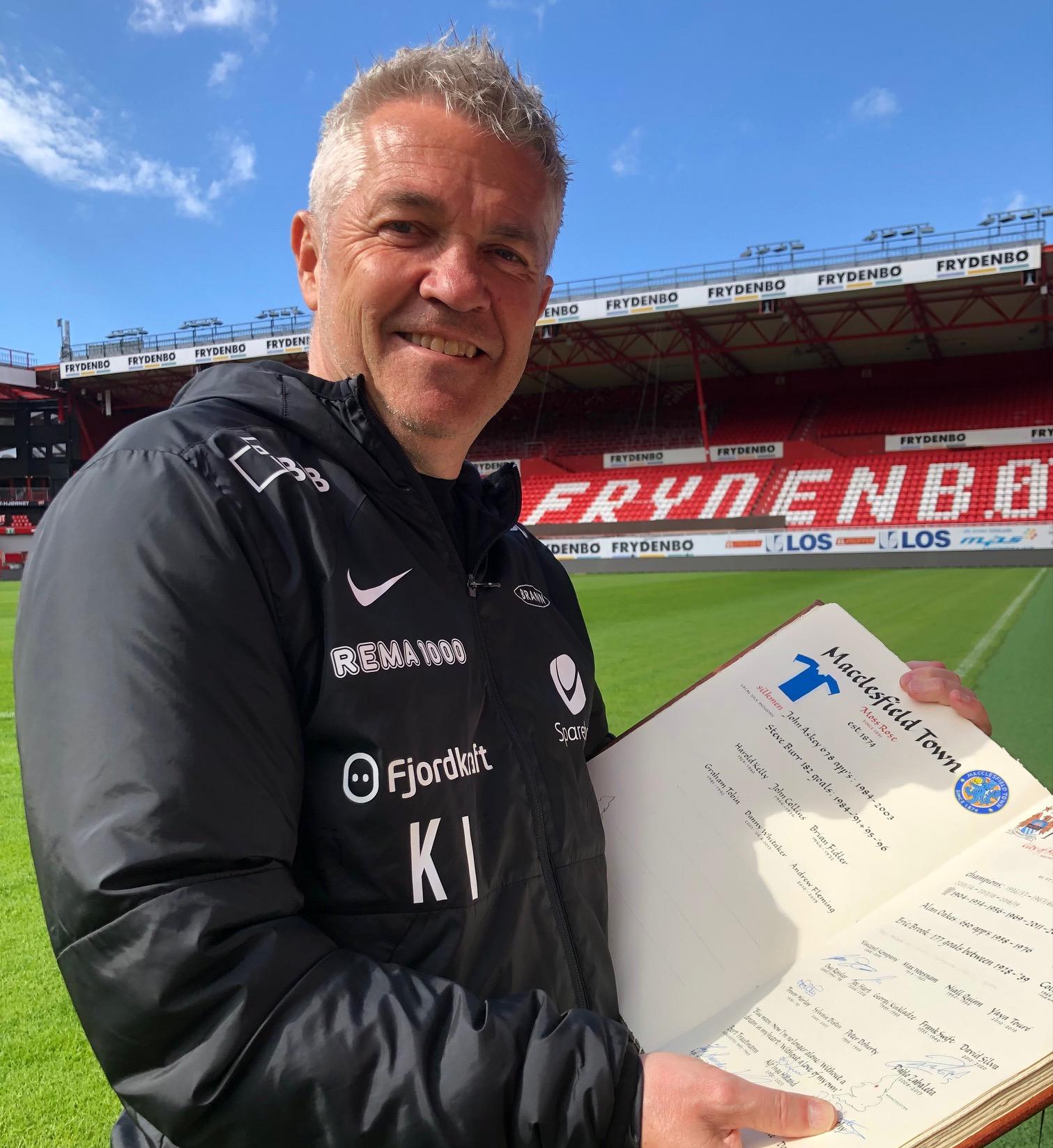 Kåre Ingebrigtsen har signert!