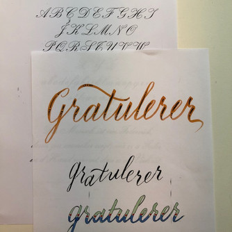 Brushwriting - fulltegnet!