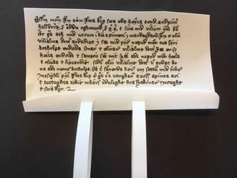 Dokument fra middelalderen