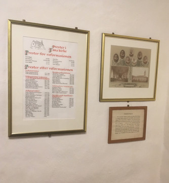 Prestene på veggen