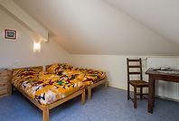 Chambre de 14 m² Tango Réservation individuelle possible  sur www.castelsaintroch.com chambres et tarifs