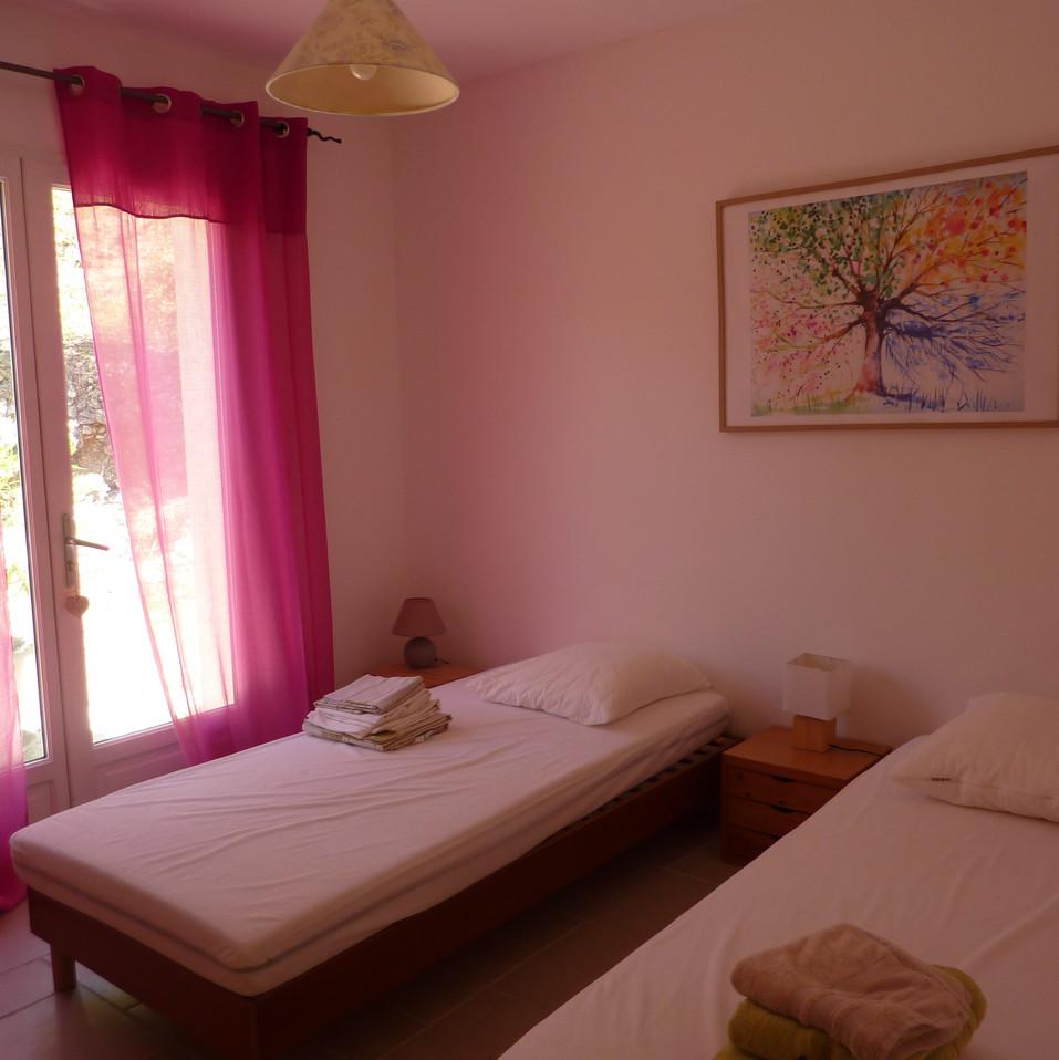 chambre 2  -  2  lit 90x200