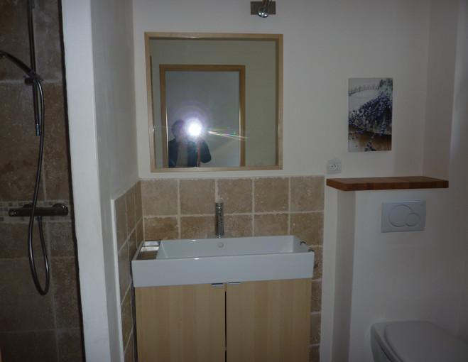salle d'eau - lavande