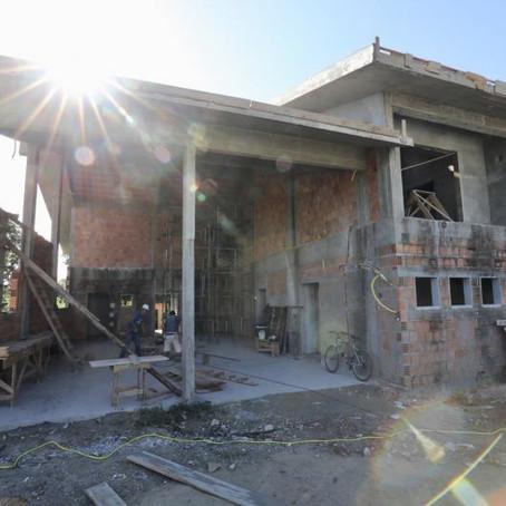 Obras do quartel do Corpo de Bombeiros do Sul da Ilha entram em fase final