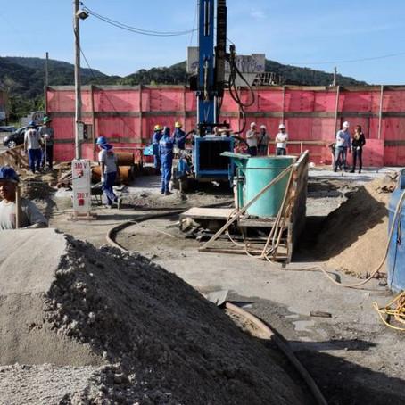 Iniciada construção do último pilar do Elevado do Rio Tavares