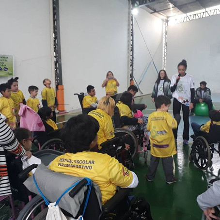 Aconteceu – Festival Escolar Paradesportivos de Florianópolis