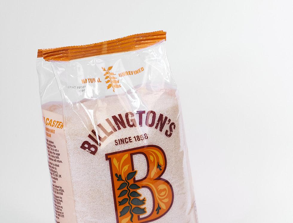 Billingtons Natural Unrefined - Golden Caster