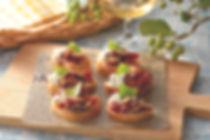 Cheese Dip with Dried Tomato and Shiitake Mushroom recipe
