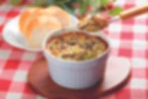 Cheezy Zucchini and Shiitake Mushroom Gratin recipe