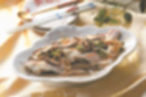 Chinese Style Steamed Fish with Fermented Black Beans and Shiitake Mushroom