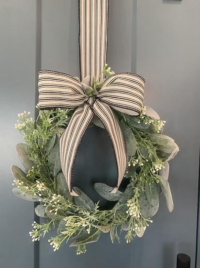 Mini Lamb's Ear Wreath