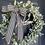Thumbnail: Navy Lamb's Ear Wreath