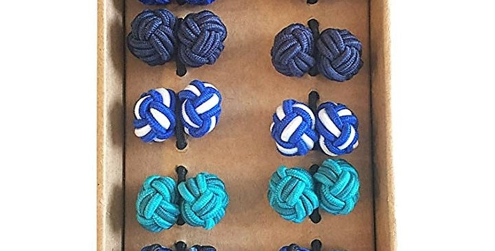 Rammentare Silk Knot Cufflinks