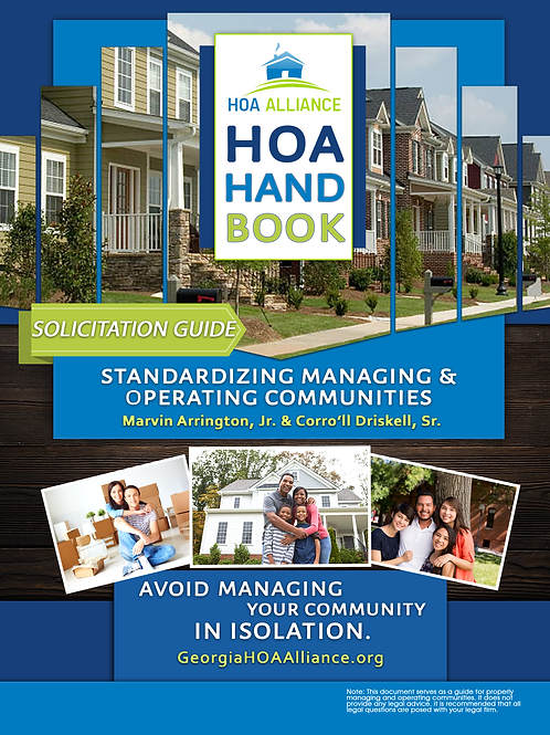 The HOA Solicitation Guide