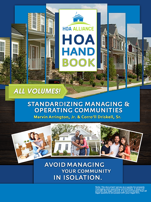 The HOA Handbook (All Volumes)