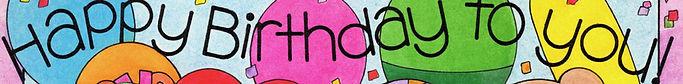 Happy Birthday theme by Chris Davenport Dok