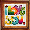 Chris Davenport Dok I Love You Needlework