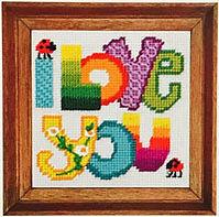 Chris Davenport Dok I Love You Needlework