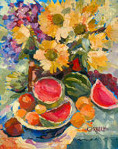 Chris Davenport Dok Fine Art Paintings