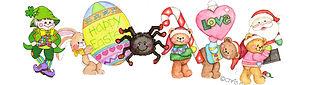Chris Davenport Dok holiday seasons collage