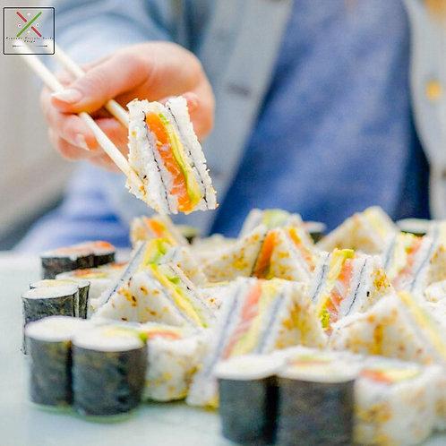 Fashion sandwich 8pc Salmon /Tuna /Prawns