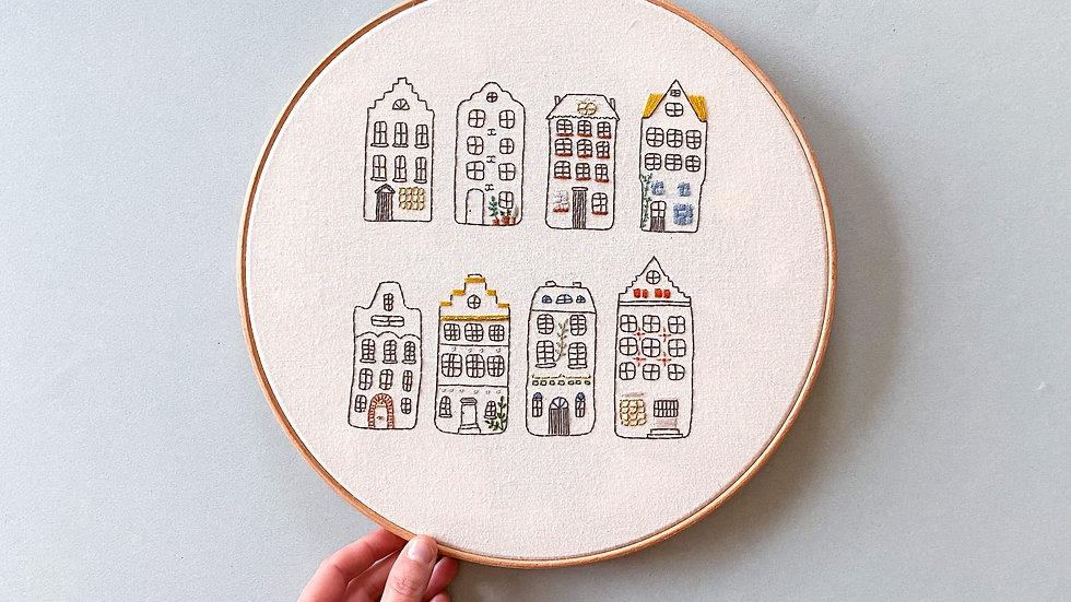 """Planche XL """"Les petites maisons"""""""