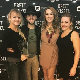 Pinch Me- We Opened for Brett Kissel!