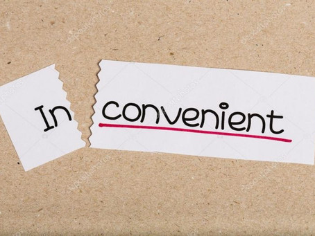The Inconvenience of Conveniences