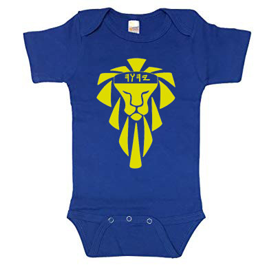Onsie Royal Blue Lion of Judah