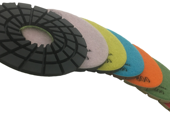 Rigid Diamond Polishing Pads | Granite Polishing Discs