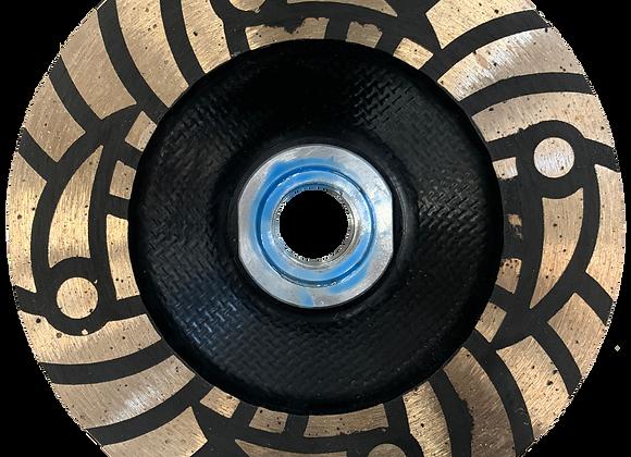Bulls Eye Rubber Resin Cup Wheel -RUC