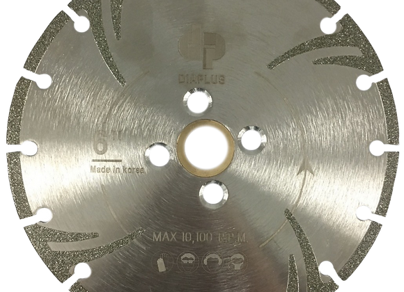 Electroplated Blade With Double Side Protection