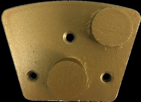 Round Gold Metal Grinding Segment