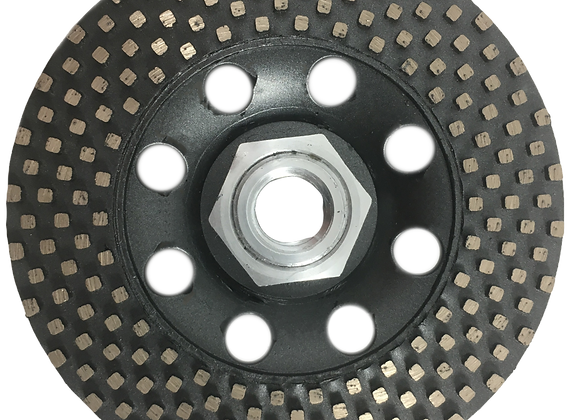 Removing Wheel Square Segment Cup Wheel