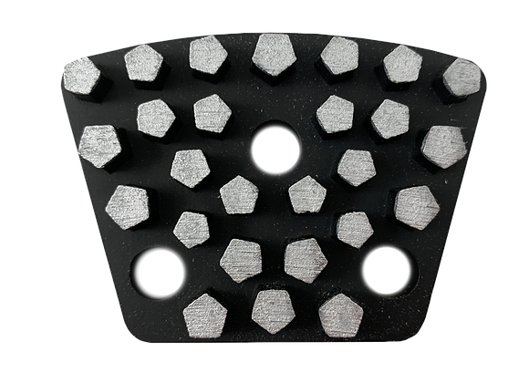 Vacuum Brazed Grinding Trapezoids - Hex Style